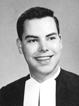 Brother James Miller's yearbook photo