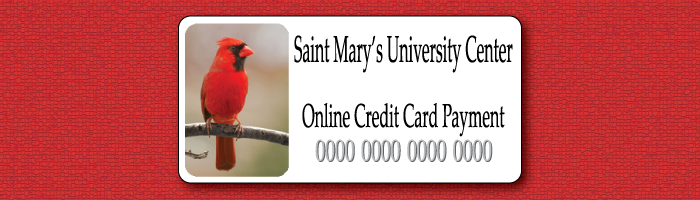 Saint Mary's University Center Online Payment Form