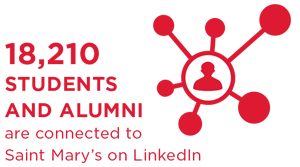 18210 Students and Alumni are connected to Saint Mary's on LinkedIn