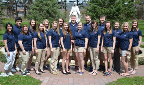 Orientation Leaders group