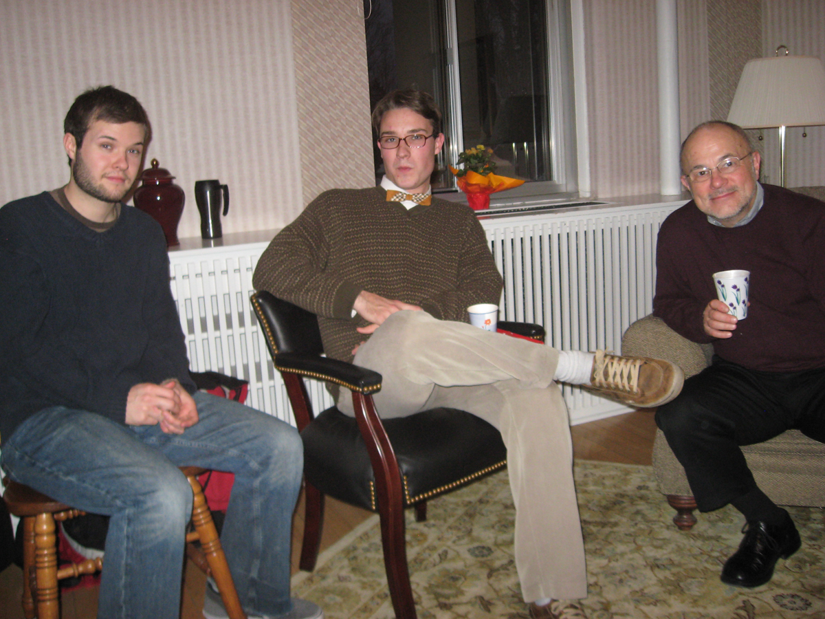 History faculty & students celebrate Saint Nicholas Day in 2010