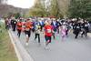 Fall Frolic 5K Run/Walk Start Line