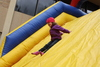 Bounce House and Slide at Family Weekend 2012
