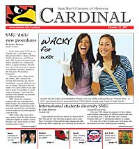 Cardinal Newspaper - October 12, 2007