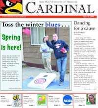 Cardinal Newspaper - April 4, 2008