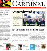 Cardinal Newspaper - April 25, 2008