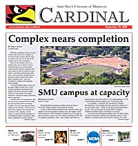 Cardinal Newspaper - September 19, 2008