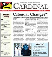 Cardinal Newspaper - March 6, 2009