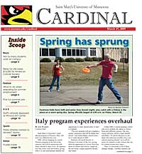 Cardinal Newspaper - March 25, 2009
