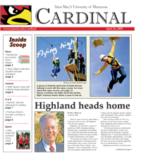 Cardinal Newspaper - April 24, 2009