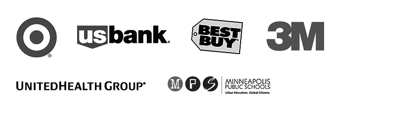 Target, US Bank, Best Buy, 3M, UnitedHealth Group, Minneapolis Public Schools